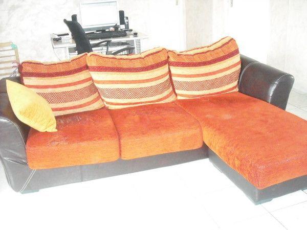 rénovation d'un canapé AVANT